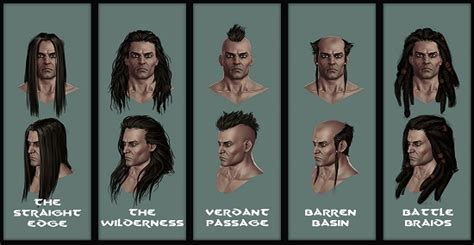 haircuts ark viking hairstyles ark hairstyles