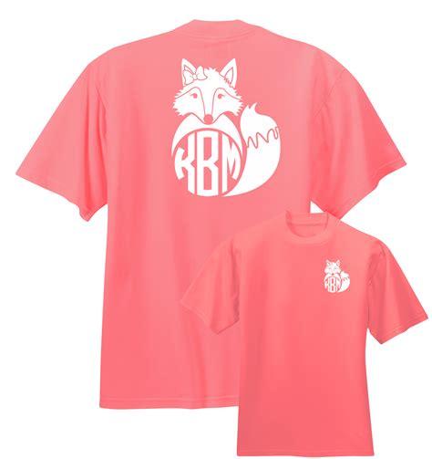 Bj 8624 Black Bigsize T Shirt preppy fox monogram shirt