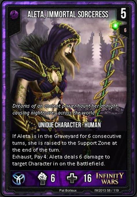 infinity wars aleta aleta immortal sorceress infinity wars wiki fandom