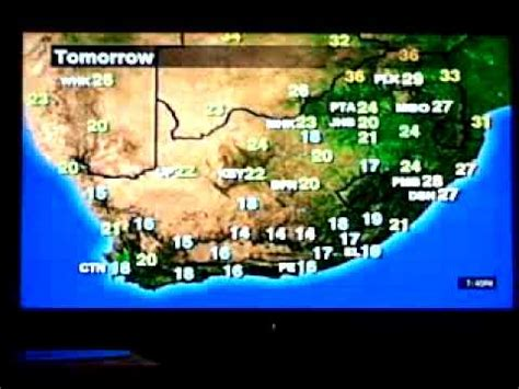 tomorrow s weather map the weather further east of durban fatti on