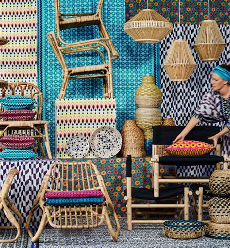 jassa ikea ikea jassa rattan and textile limited collection digsdigs