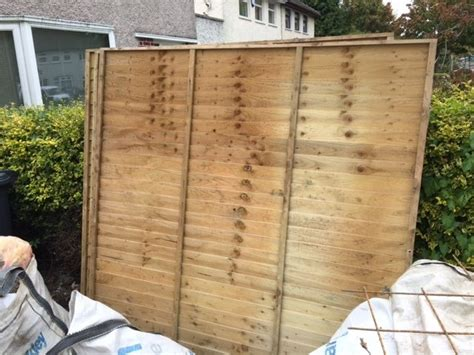 Shiplap Fence by Wooden Fence Timber Shiplap Fencing For Sale In Santry