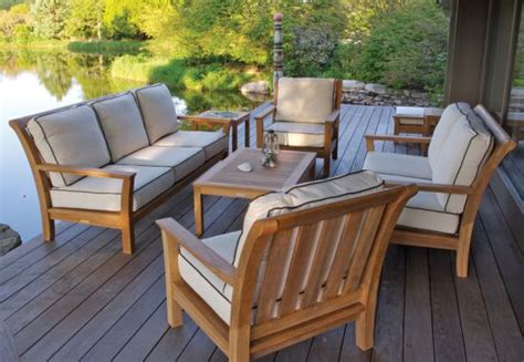 Teak Patio Furniture Set Tips To Choose The Best Teak Patio Furniture Boshdesigns