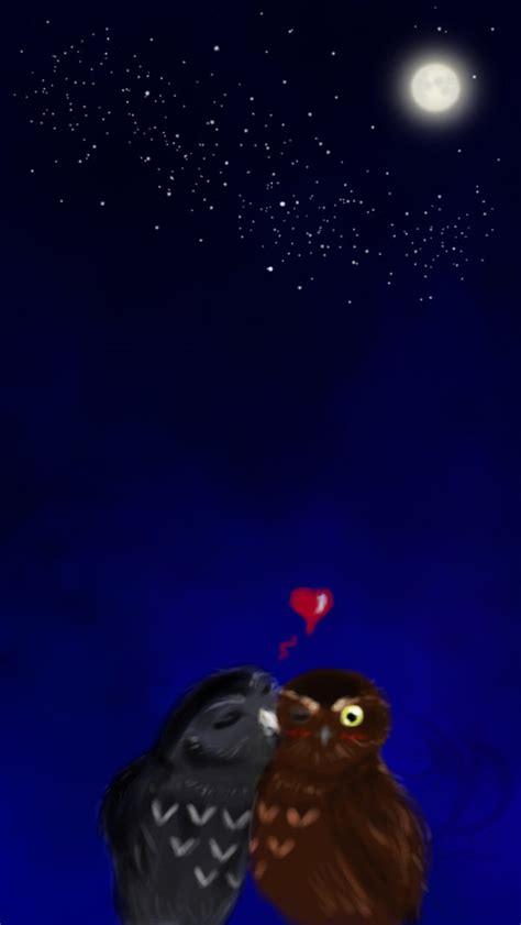couple wallpaper for iphone 5 iphone 5 wallpaper owl couple by khatharsis on deviantart