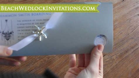 How to DIY Boarding Pass Wedding Invitations, How to