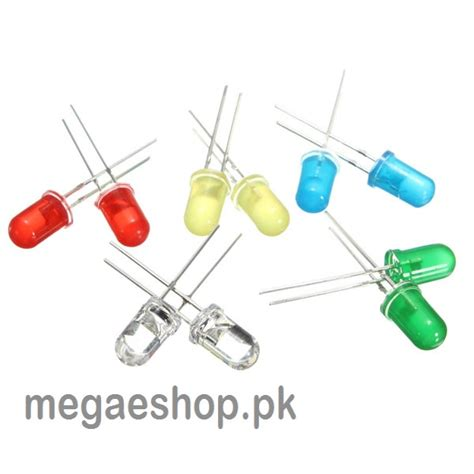 light emitting diode purchase f3 3mm led assortment kit ultra bright water clear green yellow blue white light