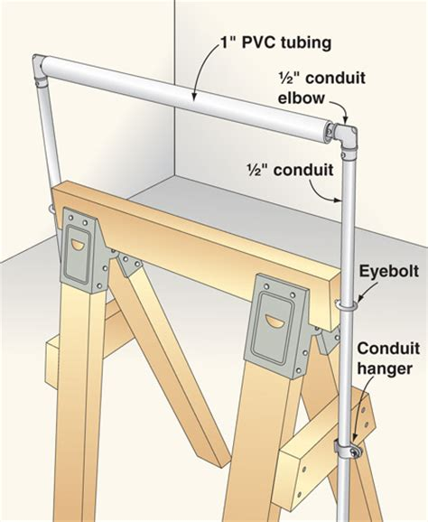 build a diy wide adjustable add an adjustable outfeed roller to your sawhorse