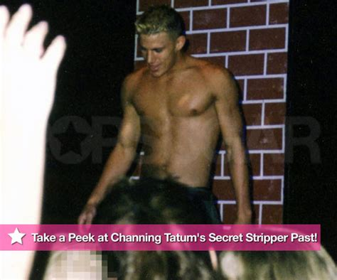 channing tatum photos stripping and photos from channing tatum s secret stripper past