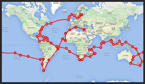 catamaran for sailing around the world sailing around the world route map google search