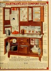 vintage hoosier style cabinet advertisment let hartman