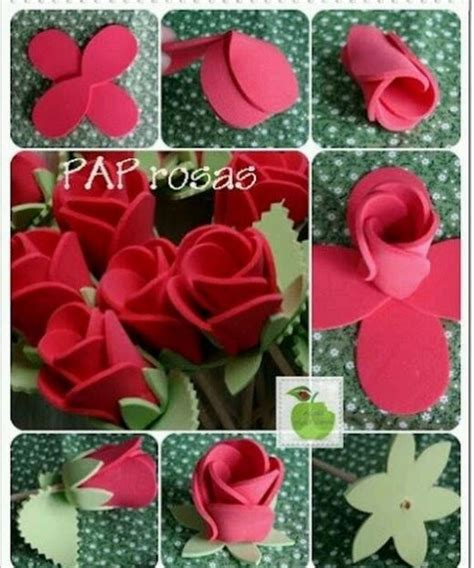 imagenes flores de goma eva imagenes de como hacer flores de goma eva imagui