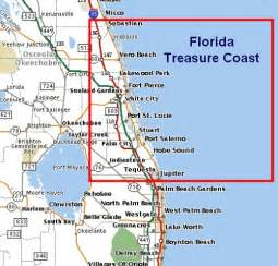 stuart florida map map of florida showing treasure coast search