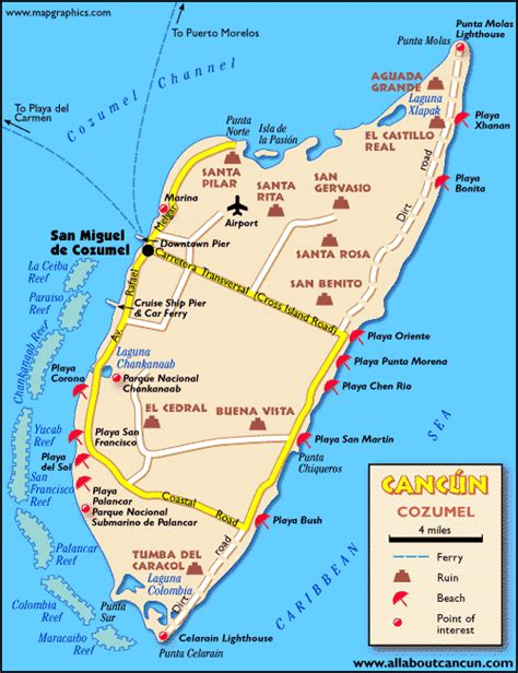 map of mexico cancun and cozumel cancun area maps printable cancun map