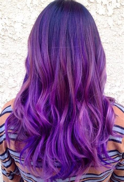 20 purple ombre hair color ideas thick hairstyles top 20 best balayage hairstyles for natural brown black