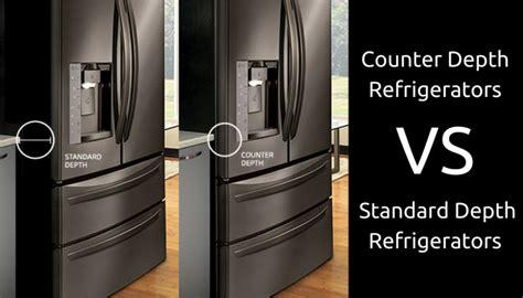 what is counter depth vs standard depth standard depth of refrigerator zef jam