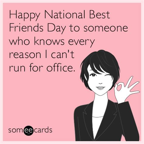 best friends day happy national best friends day to someone who knows every