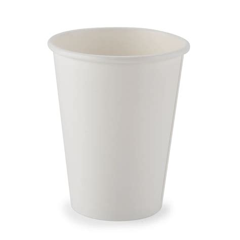 Paper Cups - choice 12 oz paper cup white 50 pack