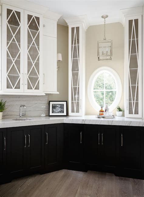 mullion kitchen cabinets transitional kitchen