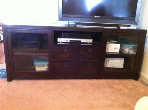 pottery barn media console rhys pottery barn rhys large media console design