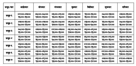 Load Shedding Schedule Nepal by Load Shedding Schedule Kathmandu Nepal 15th December 2010