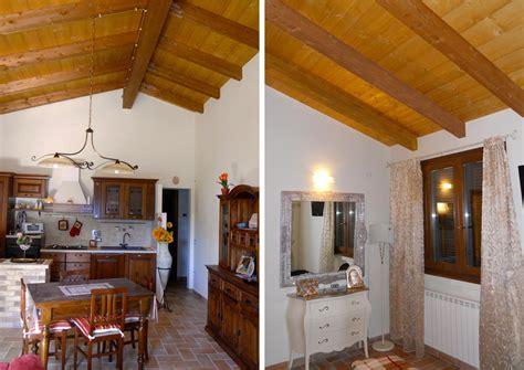interni di legno casa a un piano spoleto umbria costantini sistema legno