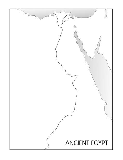 printable map egypt outline maps ancient egypt and greece ancient egypt