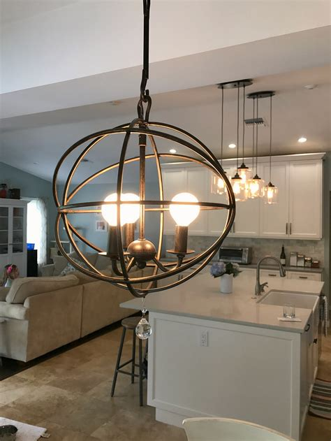 modern farmhouse kitchen lighting modern farmhouse kitchen reveal kristen hewitt