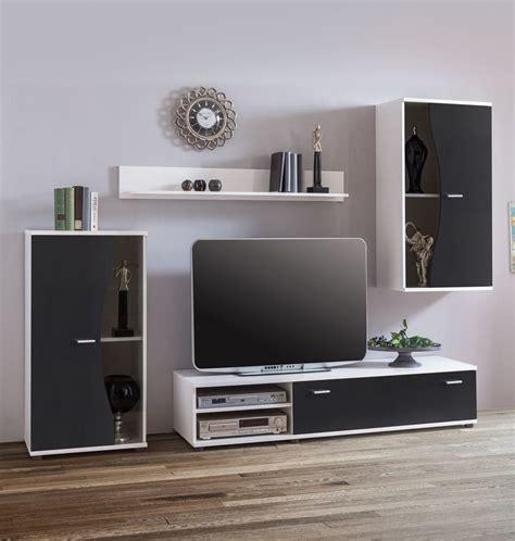 wohnzimmer ohne wohnwand wohnwand sondrio 4 teilig schwarz wei 223 ohne