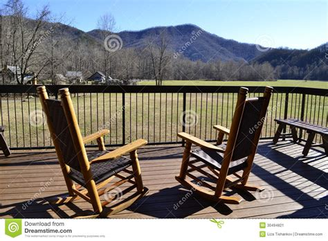 rocking chairs stock image image 30494821