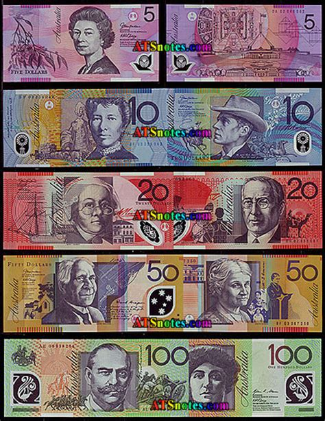 printable fake money australia when us money was nice to look at boing boing