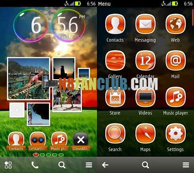 download theme effects for nokia n8 serenity 1 0 theme with sound effects signed nokia