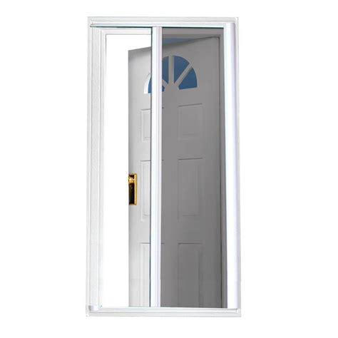 Retractable Doors Exterior Odl Brisa White Screen Door Pack Brddwe The Home Depot