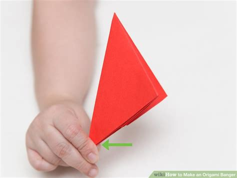 Origami Banger - how to make an origami banger 13 steps with pictures