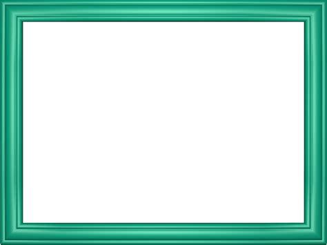 Cyan Elegant Embossed Frame Rectangular Powerpoint Border Free Powerpoint Borders