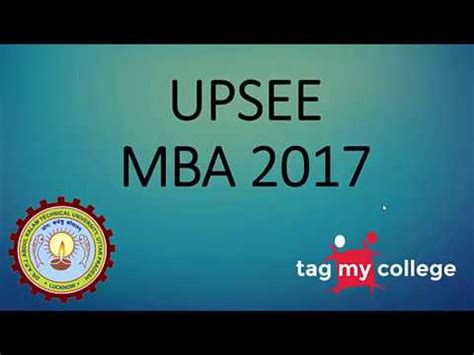 How To Apply Mba Counselling by Upsee Mba Counselling 2017 Upsee Mba 2017 Tagmycollege