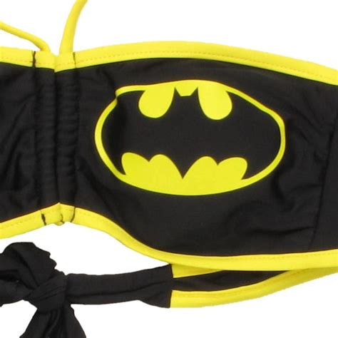 String Batman - batman logo bandeau string swimsuit