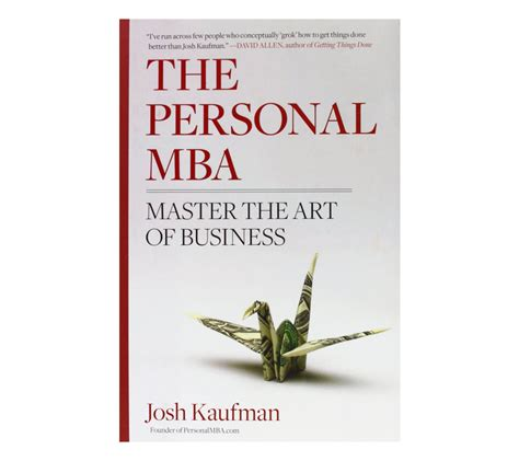 The Personal Mba Chapters by Rdellatraining Store
