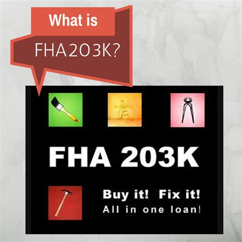 understanding the difference between fha and an fha 203k