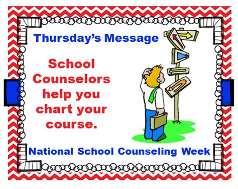 school counselor week national school counseling week thursday message the