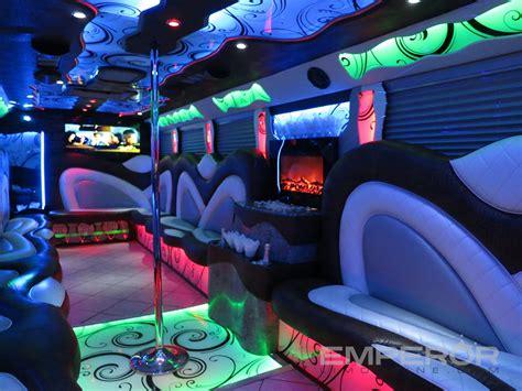 party bus castle edition party bus chicago emperor limousine