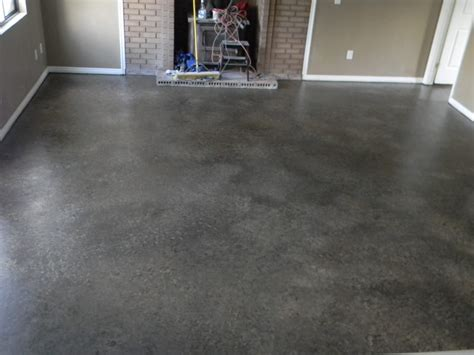painting a floor high gloss acid staining concrete floors ideas for rustic