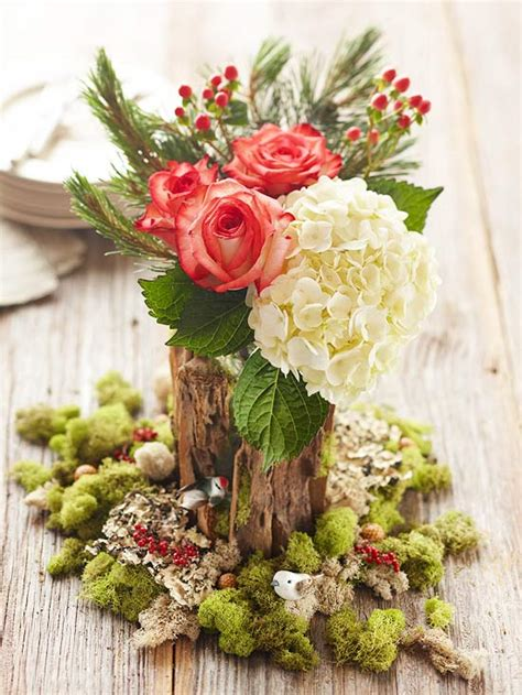 flower decoration ideas for christmas my desired home