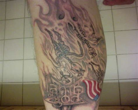 lamb of god tattoos of god eagles
