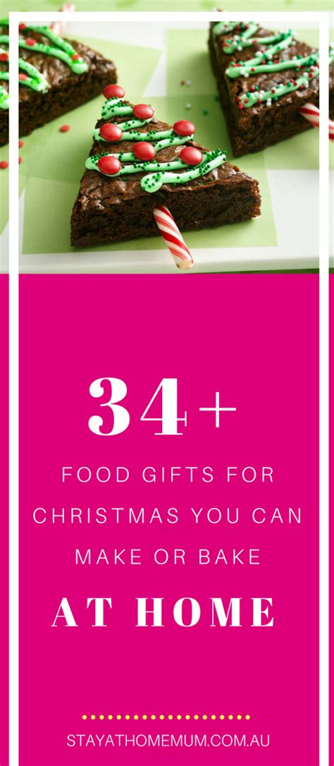 34 food gifts for christmas you can make or bake at home