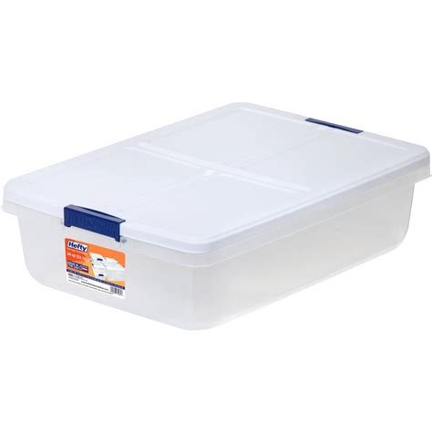 storage organizer box plastic container bed