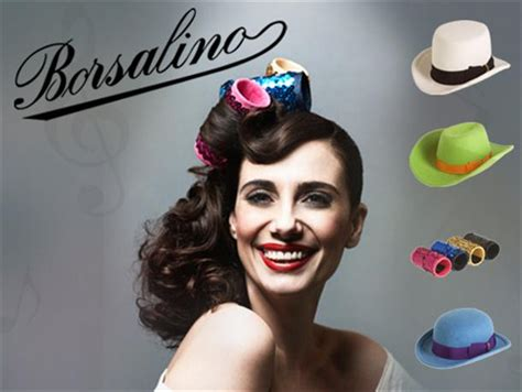 italian domme in hair curlers tiny musical hats paola maugeri and borsalino ganzo