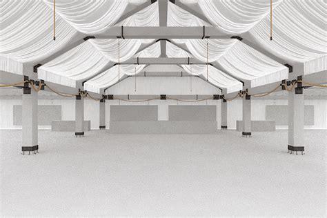 Square Voal Design 01 event space 3d model