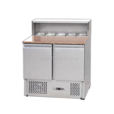 marble top refrigerated counter for pizza guangzhou itop