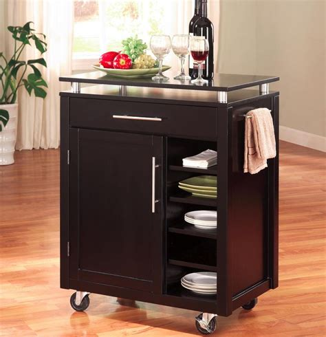 kitchen cart microwave cart design ideas