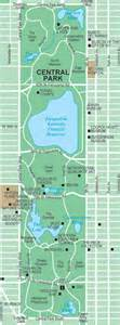 Map Of Central New York by Central Park Maps New York City Boredommd Com